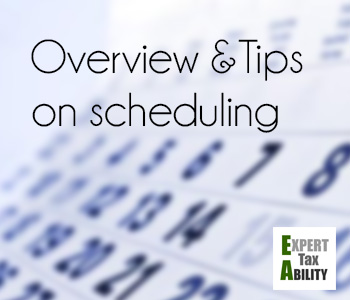 enrolled agent exam schedule