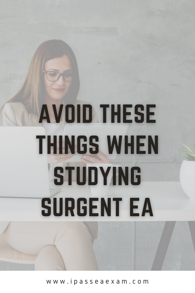 surgent ea exam prep avoid these things